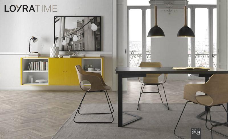 Salones clever salones comedores muebles modernos muebles - Loyra mobiliario ...