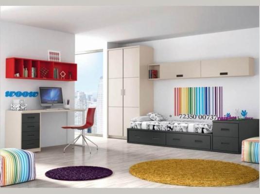 Dormitorios juveniles 12 1 dormitorios juveniles muebles for Dormitorios juveniles modernos precios
