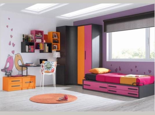 Dormitorios juveniles 12 1 dormitorios juveniles muebles - Muebles habitaciones juveniles ...