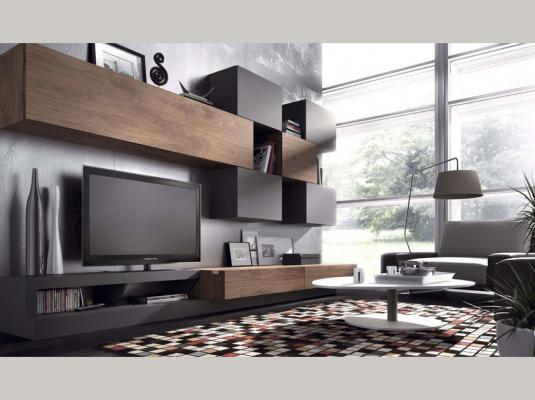 Salones deco y natural salones comedores muebles modernos for Modelos de muebles de salon