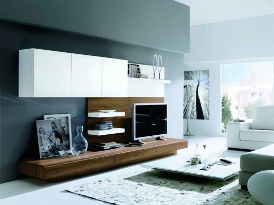 Salones clever salones comedores muebles modernos muebles - Mueble salon minimalista ...