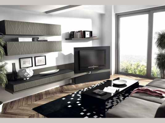 Salones clever salones comedores muebles modernos muebles for Salones modulares modernos