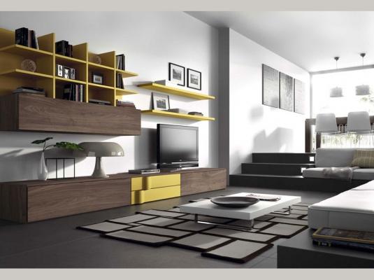 Salones clever salones comedores muebles modernos muebles for Tendencias hogar 2016