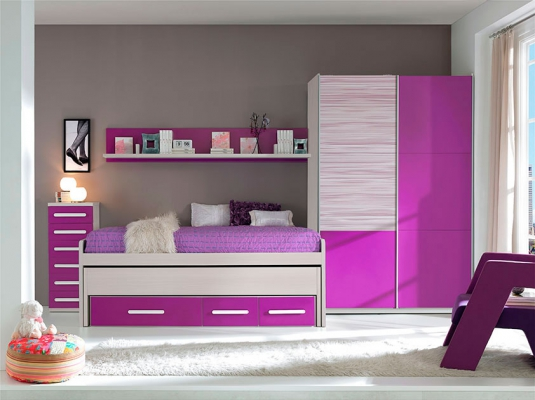 Dormitorios juveniles 12 1 y basic dormitorios juveniles muebles modernos glicerio chaves - Muebles modernos para habitaciones ...