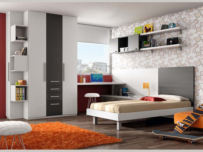 Muebles para dormitorios juveniles modernos dormitorio - Muebles juveniles modernos ...