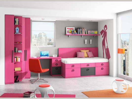 Dormitorios juveniles lab dormitorios juveniles muebles for Compactos juveniles