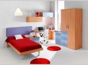 Dormitorios juveniles programa 8 dormitorios juveniles for Muebles modernos en rosario