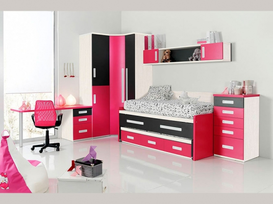 Juveniles femeninas awesome cmics lote de revistas for Habitaciones pequenas modernas