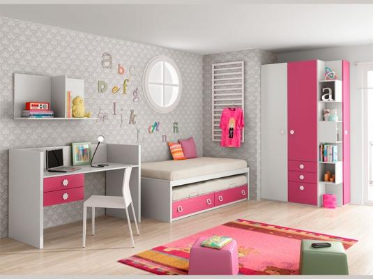Muebles infantiles lab habitaciones infantiles y beb - Dormitorios infantiles modernos ...