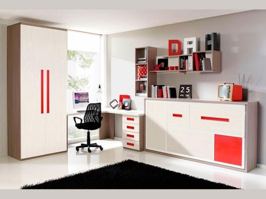 Muebles Modernos Juveniles : Juveniles abatibles programa dormitorios