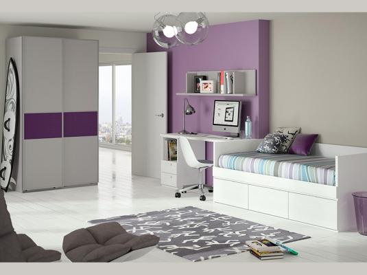Dormitorios juveniles eco dormitorios juveniles muebles for Muebles juveniles modernos