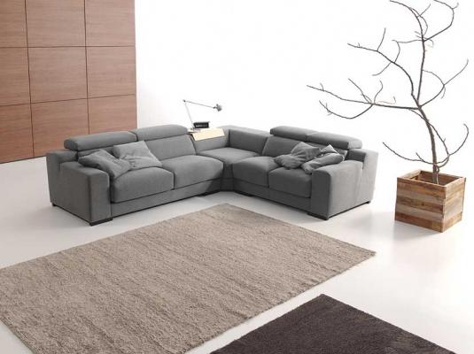 Sofas modernos dina sof s muebles modernos dina tapizados - Cuero para tapizar ...