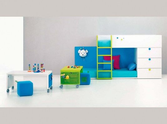 Muebles infantiles baby habitaciones infantiles y beb for Muebles infantiles modernos