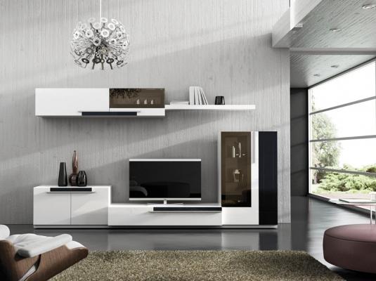 Salones comedores boss salones comedores muebles modernos for Salones modernos para pisos pequenos