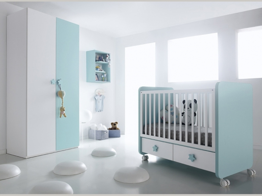 Muebles infantiles sonrie idees 2 habitaciones infantiles - Habitaciones bebe modernas ...