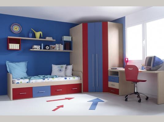 Muebles infantiles sonrie idees 2 habitaciones infantiles for Muebles infantiles modernos