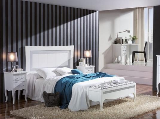 Dormitorios romantic dormitorios de matrimonio muebles contempor neos muebles moval - Muebles romanticos ...