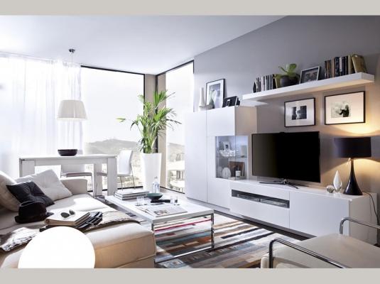 Salones duo salones comedores muebles modernos rimobel for Muebles escandinavos modernos