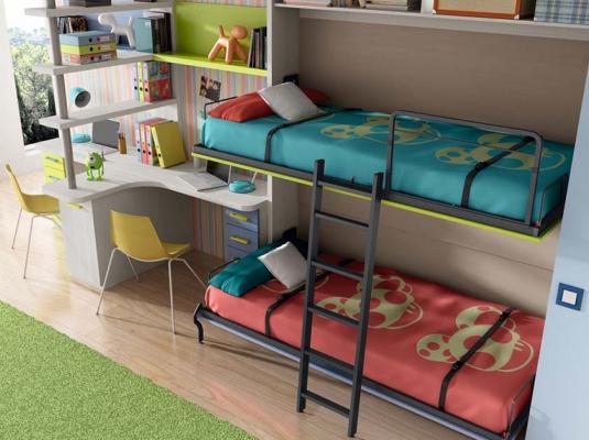 Dormitorios juveniles abatibles y literas lab dormitorios juveniles muebles modernos muebles grabal - Dormitorios juveniles literas abatibles ...