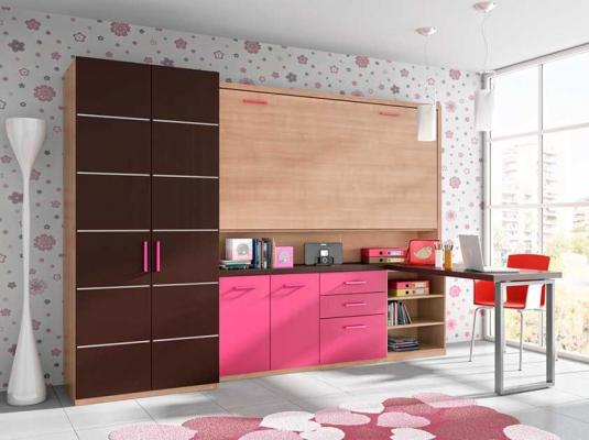 Dormitorios juveniles abatibles y literas lab dormitorios for Muebles juveniles modernos