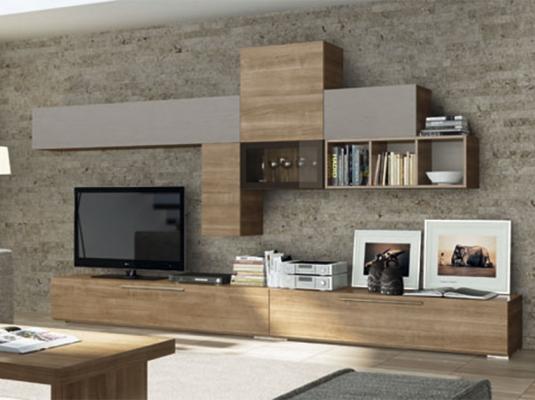 Salones modernos acqua salones comedores muebles modernos for Salones de madera modernos