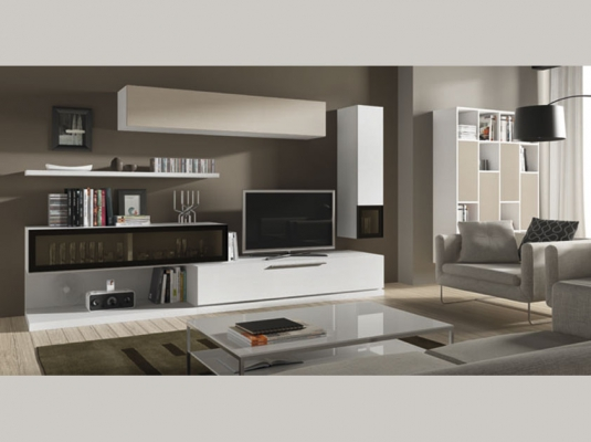 Salones modernos acqua salones comedores muebles modernos for Espejos modernos para salon