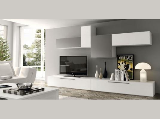 Salones modernos acqua salones comedores muebles modernos - Decoracion mueble tv ...