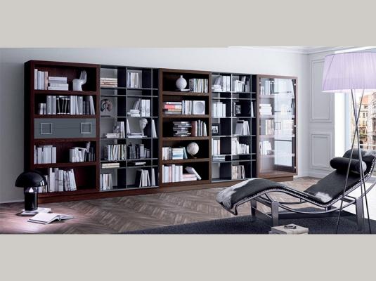 de Biblioteca modular Z146 de muebles para salón modernos BAHUAUS