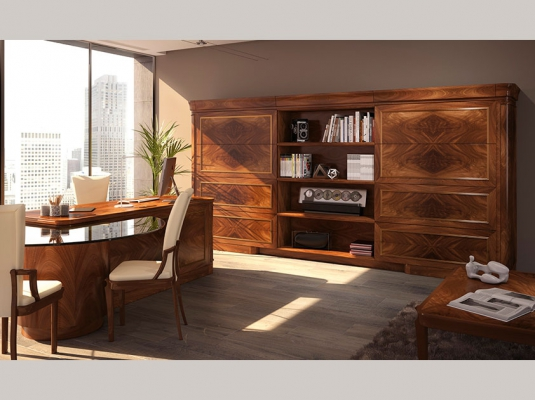 Muebles de alta gama audere dormitorios de matrimonio - Muebles despacho clasico ...