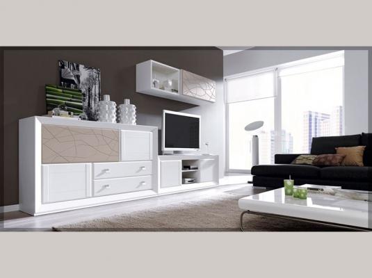 Salones hermes salones comedores muebles modernos jim nez for Composiciones de salon modernos