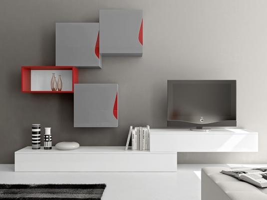 Comedores home concept salones comedores muebles modernos for Composiciones de salon modernos
