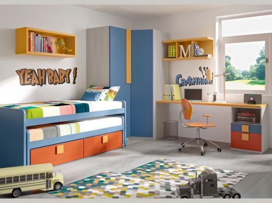 Dormitorios juveniles team dormitorios juveniles muebles for Dormitorios juveniles modernos