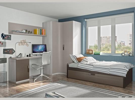 Dormitorios juveniles team dormitorios juveniles muebles modernos lanmobel - Dormitorios juveniles el mueble ...