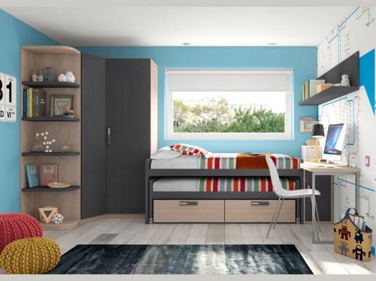 Dormitorios juveniles team dormitorios juveniles muebles for Muebles briole dormitorios juveniles