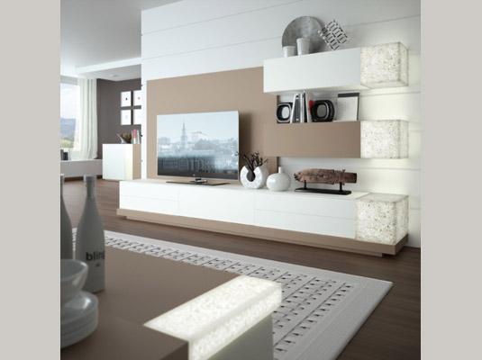 Salones ortus2 salones comedores muebles modernos muebles - Disenadores de muebles modernos ...