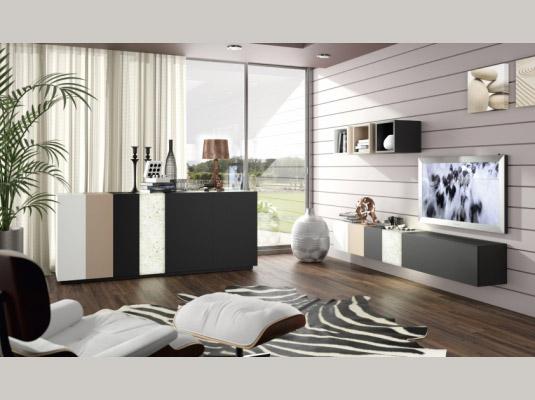 Salones ortus3 salones comedores muebles modernos muebles for Muebles aparadores modernos