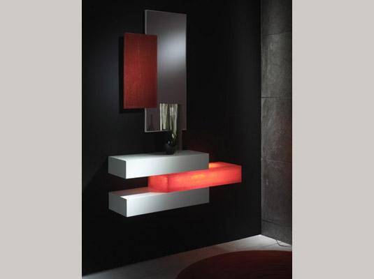Recibidores serie dedalo muebles auxiliares muebles - Muebles barrocos modernos ...