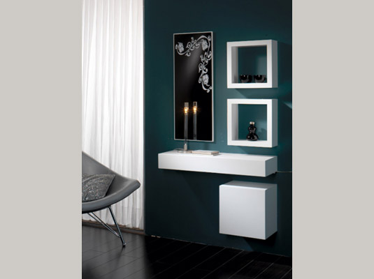 Recibidores serie dedalo muebles auxiliares muebles for Muebles auxiliares modernos