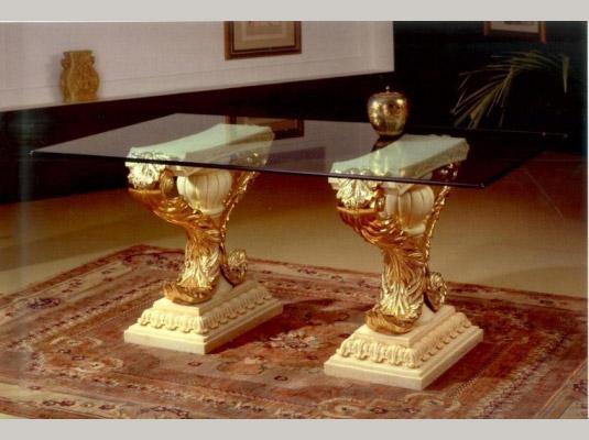 Mesas de centro classic mesas y sillas muebles cl sicos - Recibidores clasicos ...