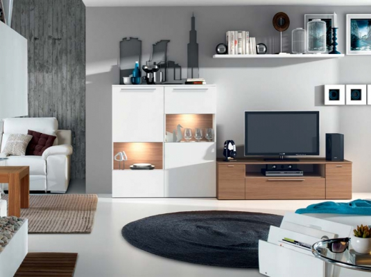 Cube 3 salones comedores muebles low cost ramis for Muebles low cost