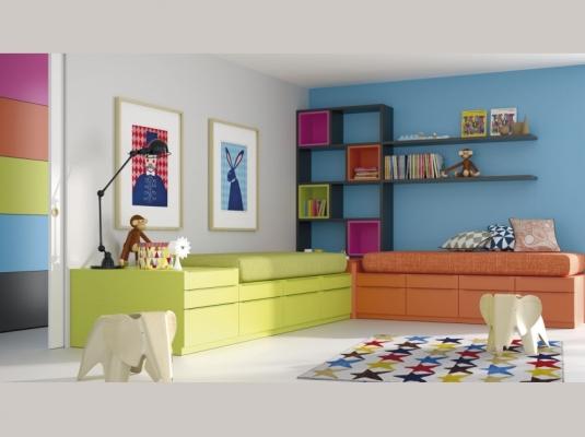 Infinity habitaciones infantiles y beb muebles modernos muebles jjp - Infinity jjp ...