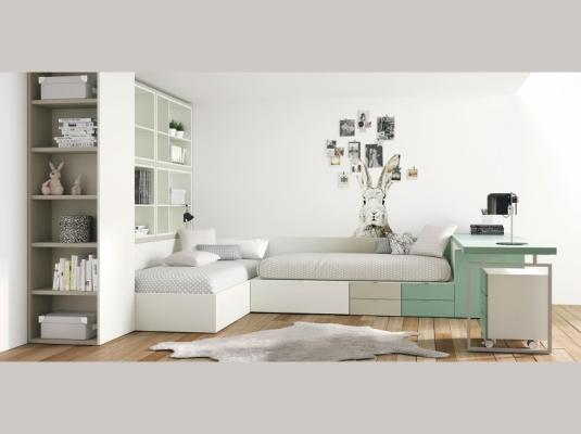 Dormitorios juveniles lagrama armarios muebles modernos - Dormitorios juveniles cordoba ...