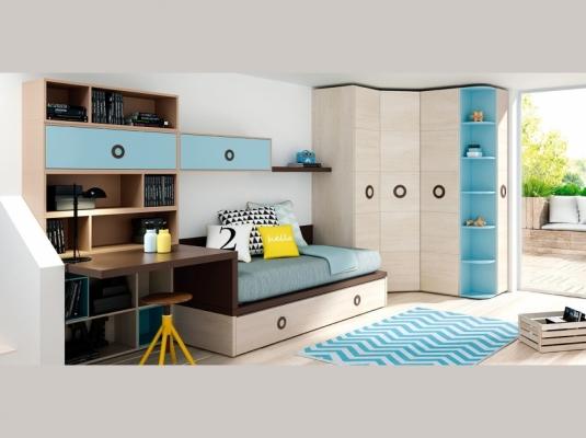 Dormitorios juveniles lagrama armarios muebles modernos for Muebles de dormitorios juveniles modernos