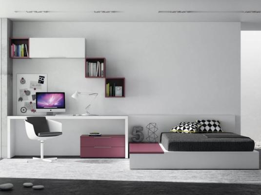 Cuartos modernos juveniles imagui - Habitaciones juveniles muebles tuco ...