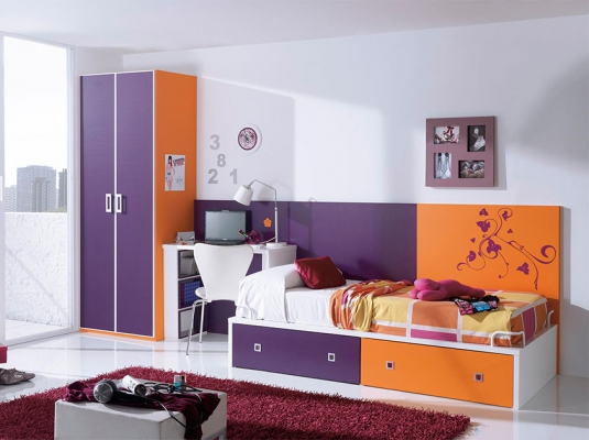 Dormitorios juveniles tribu dormitorios juveniles muebles for Muebles juveniles modernos
