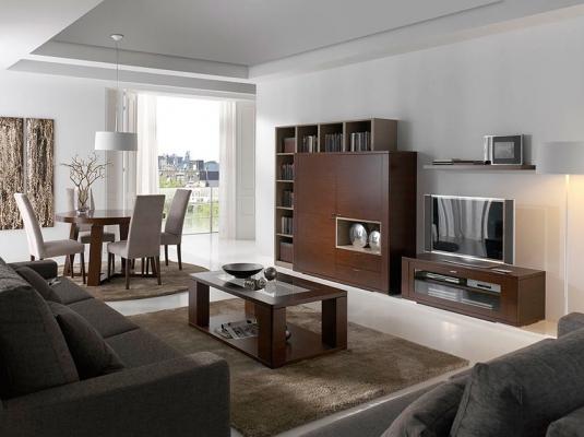 Salones comedores zoe todos los ambientes muebles for Muebles para tv contemporaneos